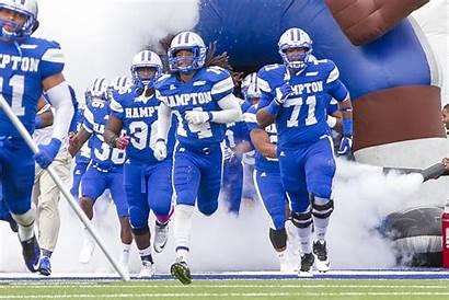 Hampton Football Hbcu University Dominion Sports Athletics