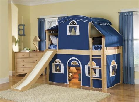 Loft Bed With Slide Ikea by Ikea Bunk Bed With Slide Room For A Childs Imagination