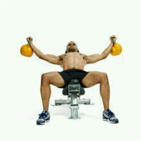 chest kettlebell flies exercise skimble workout exercises