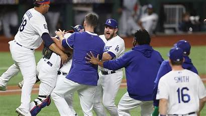 Dodgers Win Angeles Score Rays Filled Getty