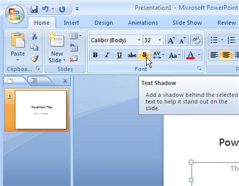 add template to powerpoint how to add text shadow in powerpoint slide design