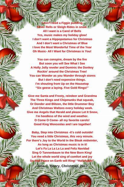 Christmas Poem Poems Want Merry Holidays Happy
