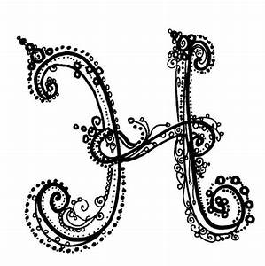 Beautiful Alphabet Letter Designs H   theveliger