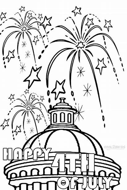 Fireworks Coloring Pages Printable Cool2bkids