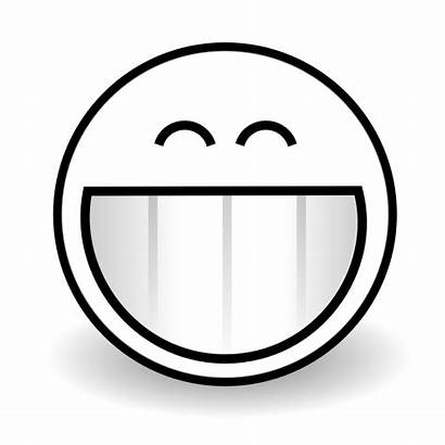 Smiley Face Clipart Grin Happy Clip Smile