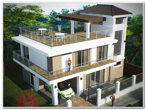 House Design Ideas With Rooftop by House Design Roof Deck Roof Design