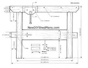 small woodworking bench plans woodideas
