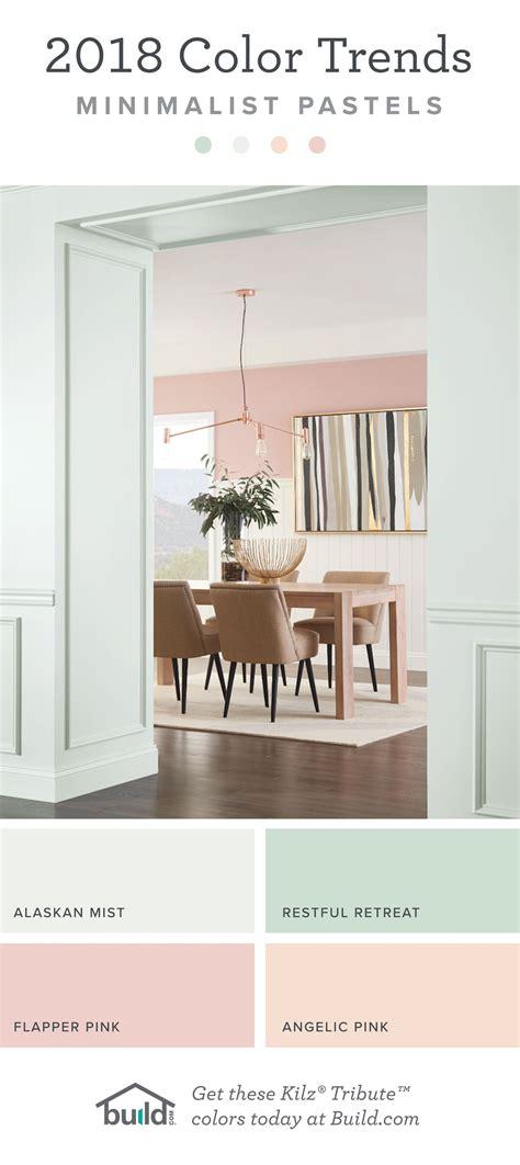 paint color trends minimalist pastels love
