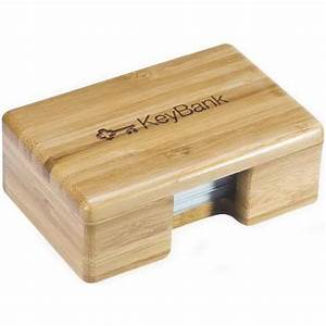 promotional bamboo business card holder usimprints With bamboo business card holder