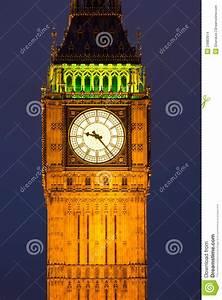 Clocktower With Big Ben At Night Stock Photo - Image: 24883914