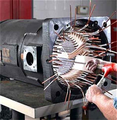Electric Motor Repair by Electrical Energy Efficiency Part I Creating A Motor