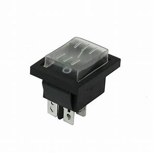 15  30a 250v Ac Double Pole Single Throw Dpst Rocker Switch
