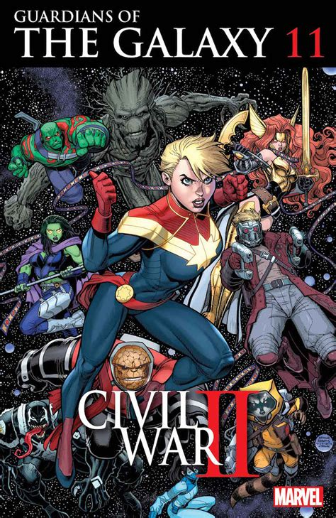 Marvel August 2016 Solicitations - SuperHeroHype