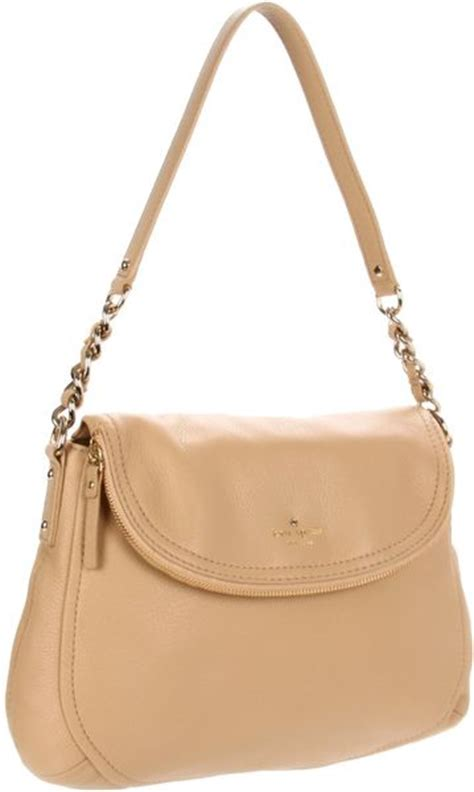 kate spade new york cobble hill shoulder bag in beige palomino lyst