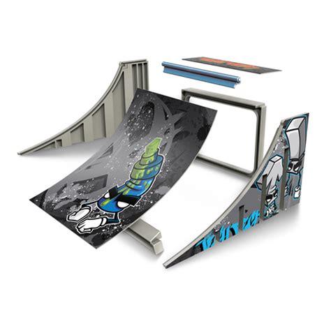 Tech Deck Skatepark Walmart by Tech Deck Build A R Play Set Quarter Pipe Play