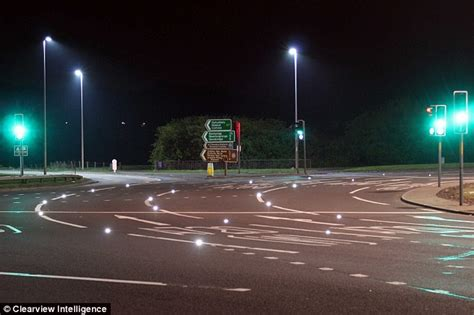 Smart Cat's Eyes To Light Up Major Roundabouts  This Is Money