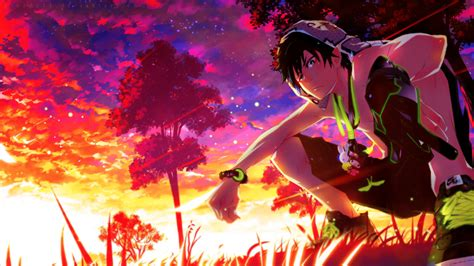 Download 1920x1080 Ao No Exorcist Rin Okumura Scenic