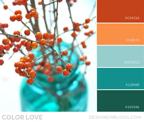 turquoise room decorations colors  nature aqua exoticness home update ideas orange