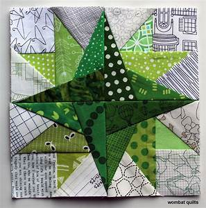 """free paper piecing pattern"" WOMBAT QUILTS"