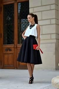 tenue chic femme les meilleures 60 idees archzinefr With robe de ville habillée