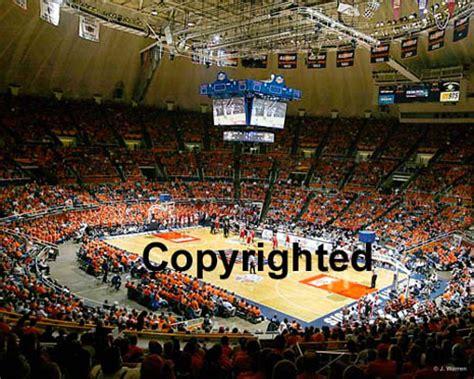 university  illinois illini basketball panorama assembly