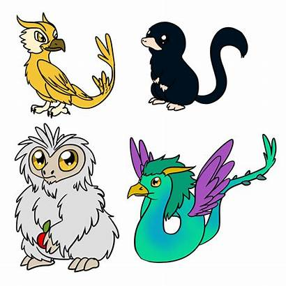 Fantastic Beasts Demiguise Clipart Occamy Explore Them