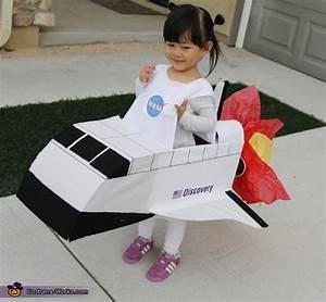 DIY Space Shuttle Costume
