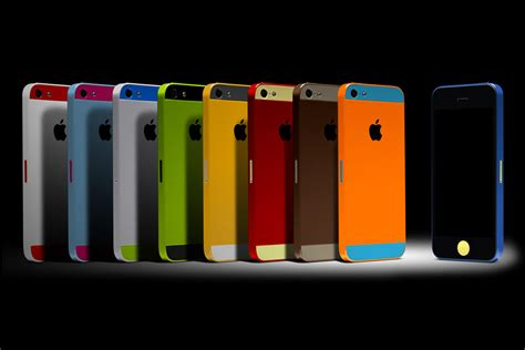 iphone colors colorware iphone 5 uncrate