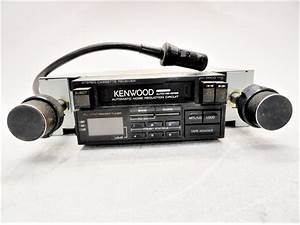 Kenwood Krc Fm Cassette Receiver Retro Car Radio