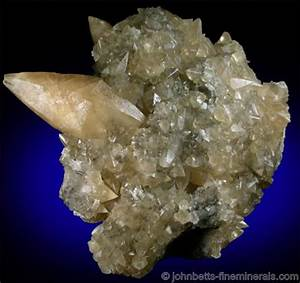 Scalenohedral Calcite Crystal - The Mineral and Gemstone ...