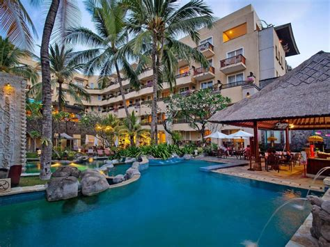 kuta paradiso hotel  bali room deals  reviews