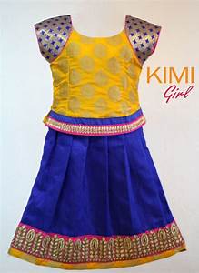 56 best images about Pattu pavadai models on Pinterest   Traditional UX/UI Designer and Girls ...