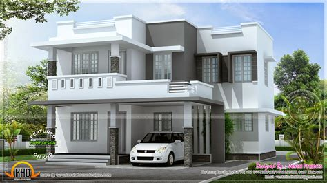Beautiful Simple Modern House by Simple Beautiful House Kerala Home Design And Floor Plans