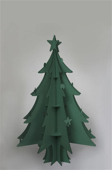 christmas tree out of cardboard 100 recycled cardboard christmas tree by cascades 7510