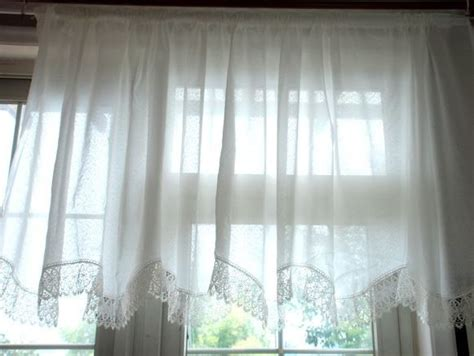 european cafe window curtains european white lace embroidered curtain finished