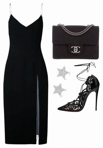 Polyvore Louboutin Outfits Outfit Chanel Christian Christopher
