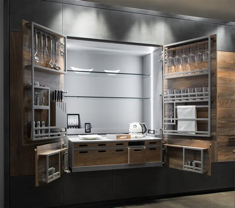 chef de cuisine hideaway kitchen unit chef de cuisine by toncelli cucine