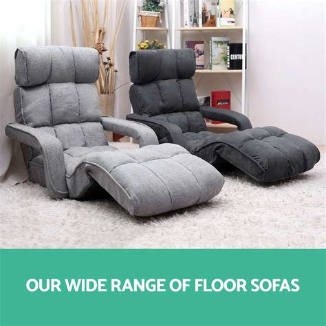lounge chair sofa lounge sofa bed floor armchair folding recliner chaise chair adjustable cha ebay