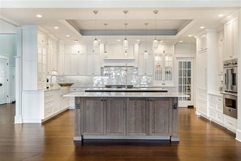 Design Ideas For Kitchens - coastal dream kitchen brick new jersey by design line kitchens