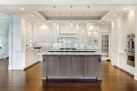 Kitchen Ideas For White Cabinets - coastal dream kitchen brick new jersey by design line kitchens