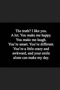 we're both awkward. and we share a lot of silence. but i ...