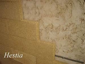hestia isolation bloc chaux chanvre isolant phonique With isolation mur en pierre interieur