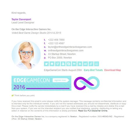 email signature template inspiration 200 beautifully crafted inspiring email signature exles