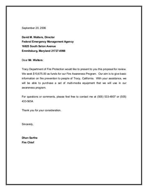 grant proposal sample