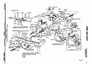 65 Brake Pedal Diagram