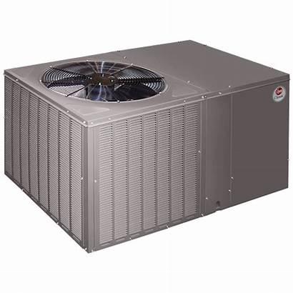 Package Unit Heat Pump Rheem Units Ton