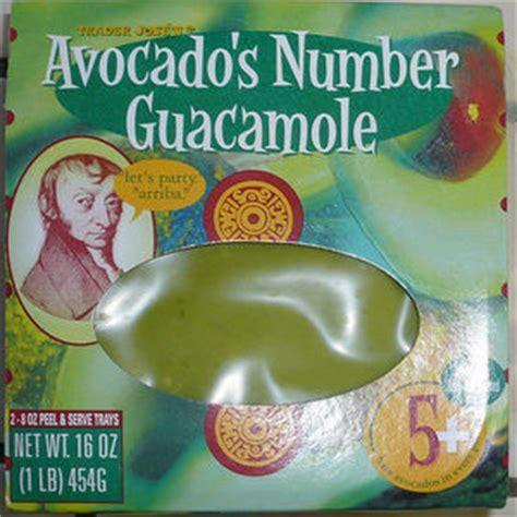 Trader Jose's Avocado's Number Guacamole Reviews