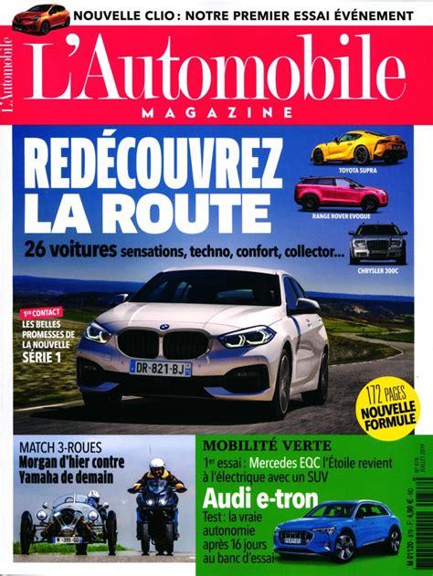 l automobile magazine abonnement l automobile magazine intermagazines