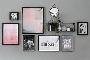 Bilder Richtig Aufhängen Anordnung : wandgestaltung bilder poster richtig aufh ngen juniqe ~ Frokenaadalensverden.com Haus und Dekorationen