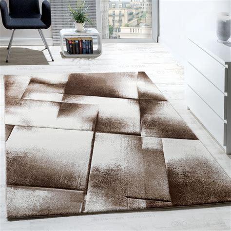 Teppich Wohnzimmer Beige by Wohnzimmer Teppich Kurzflor Braun Beige Creme Teppich De
